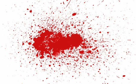 splatters: Blood stain