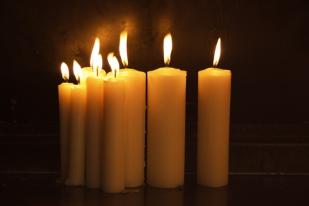 ROmantic candles Stock Photo - 15800232