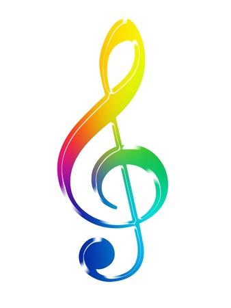 Musical symbol photo
