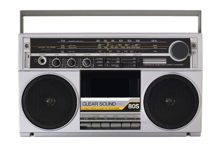 Vintage boombox radio Stock Photo - 16059277