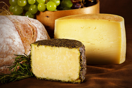Still life image of domestic cheese