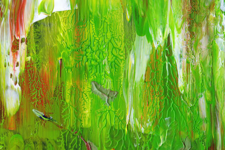 Green painting texture