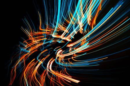 beam:  laser  beam Stock Photo