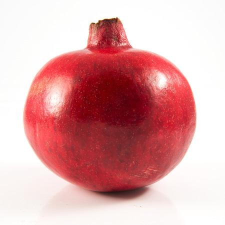 isolated pomegranate on white background Stock Photo