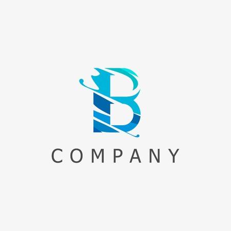 B Logo Template