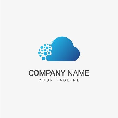 Blue Cloud Template, art design
