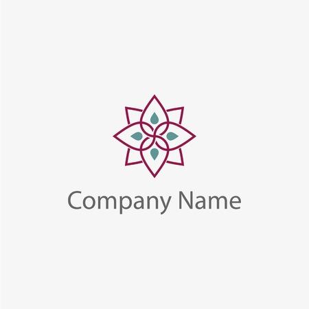 Simple Flower template, art design
