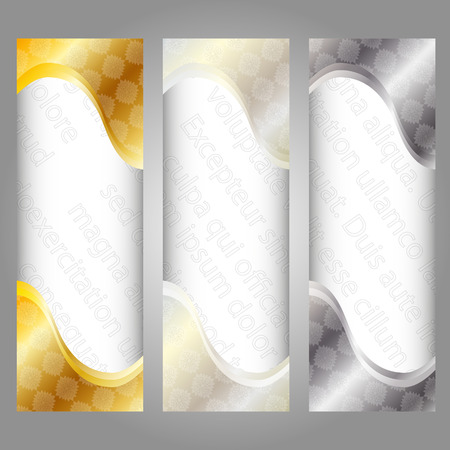 set of colorful background banners with the text watermark Vector
