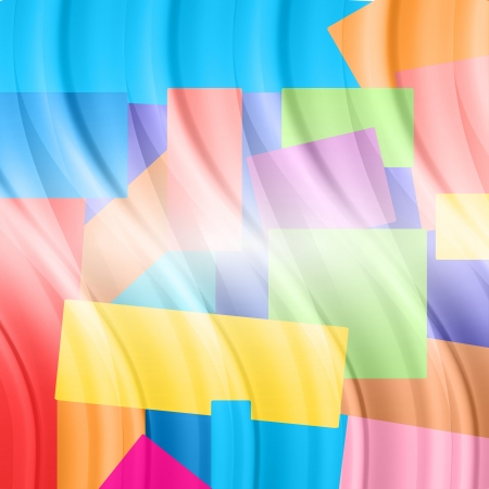 colorful abstract background with elements similar to the balloons