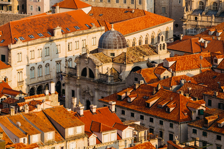 Church of Saint Blaise in the old part in Dubrovnik, Croatia