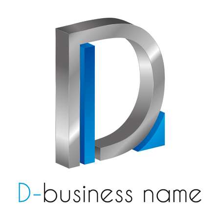 logo marketing: Letter D Logo
