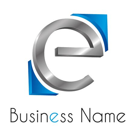 logo marketing: Logo letter E
