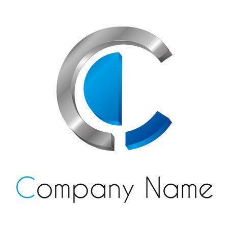 Logo letter C Illustration