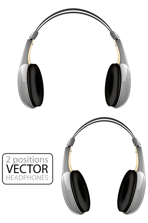 Vector headphones Çizim