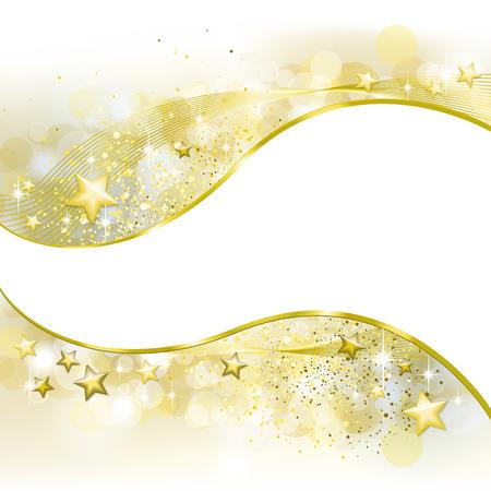 festive background: Festive golden background Illustration