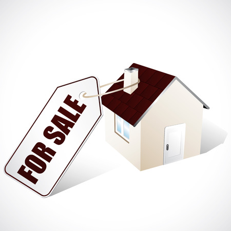 family moving house: Home for sale