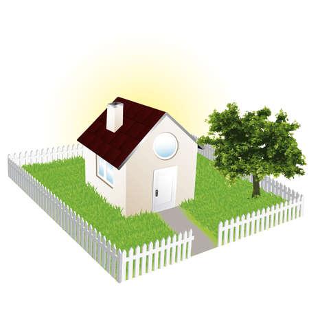 home owner: Sweet home Illustration