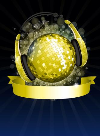 evening ball: Golden DJ