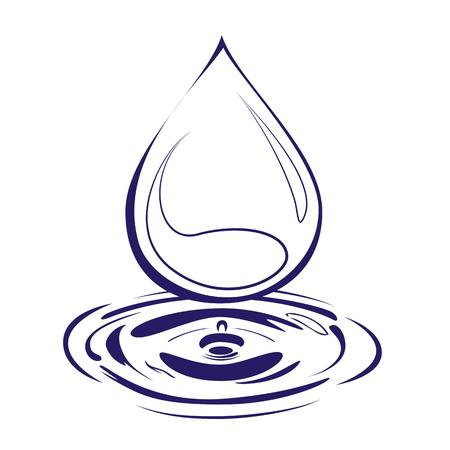 waterpolo: Drop logo