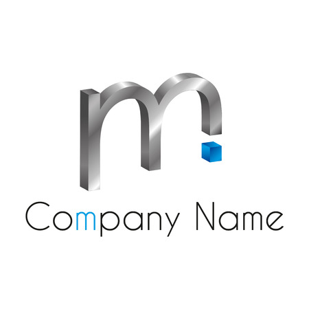 logo marketing: Letter M Logo Illustration