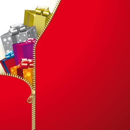 zip: Zip Christmas Illustration