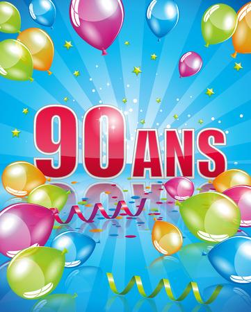 90 years: 90 years