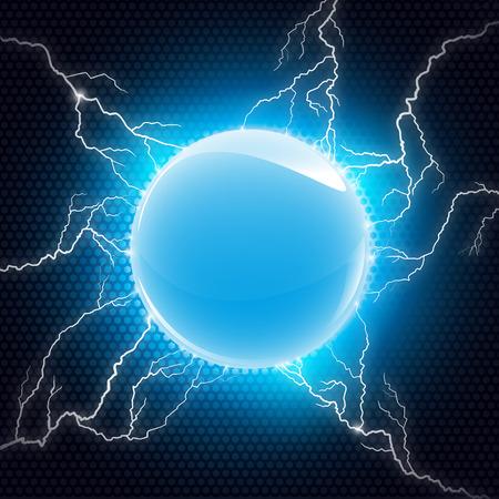 Sphère électrique Banque d'images - 44735928