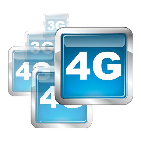 logo: 4g logo