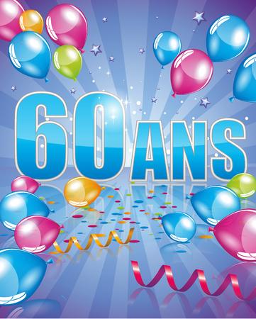 60  イラスト・ベクター素材