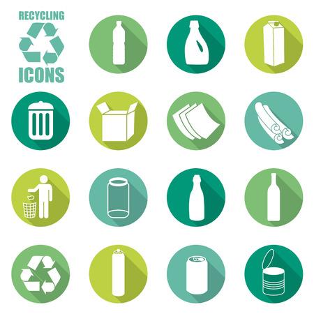 Icônes de recyclage