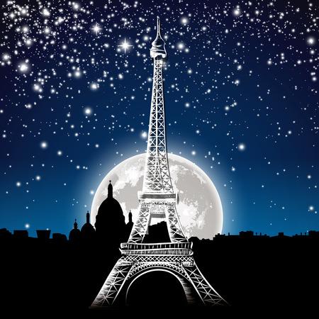 Paris by night Zdjęcie Seryjne - 44827261