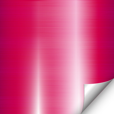 aluminum background: Pink metal background Illustration