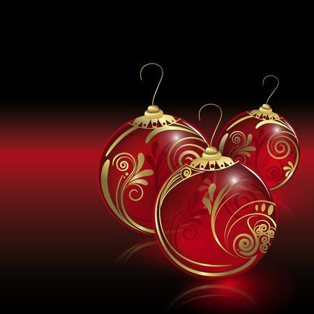 christmas balls: Christmas balls