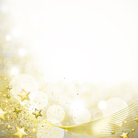Gold background Vectores