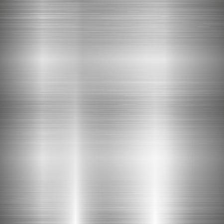 metales: Textura de metal Vectores