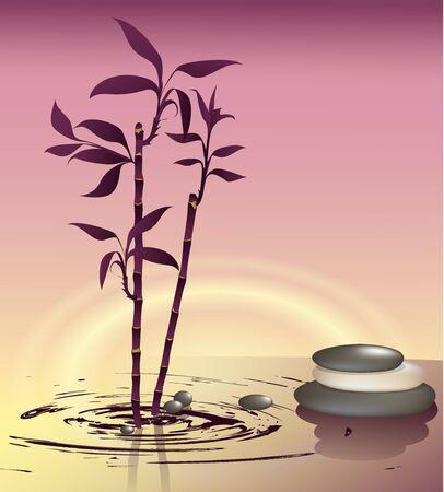 pebble: Zen decor Illustration