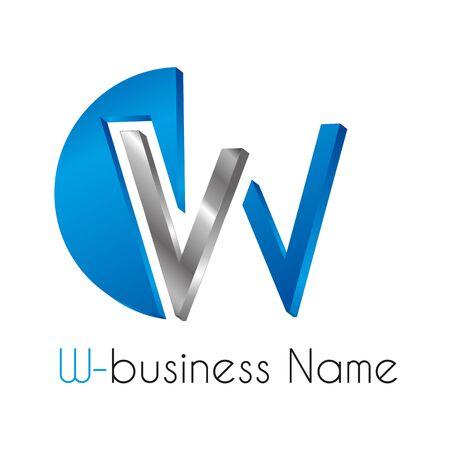 logo marketing: Letter W logo