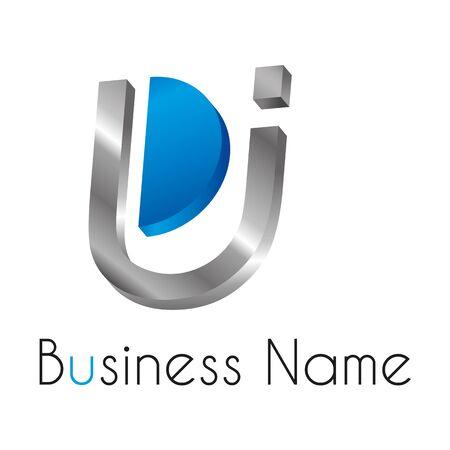 logo marketing: Letter U logo