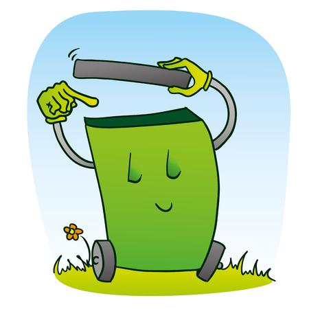 limpieza: Cartoon símbolo de la limpieza Vectores