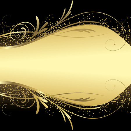 gold christmas background: Abstract gold background