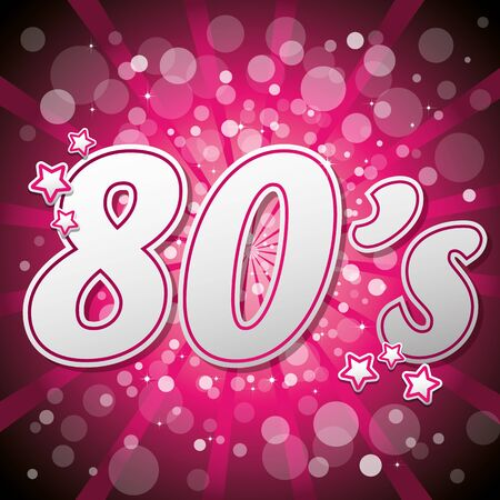 themed: Pink 80s