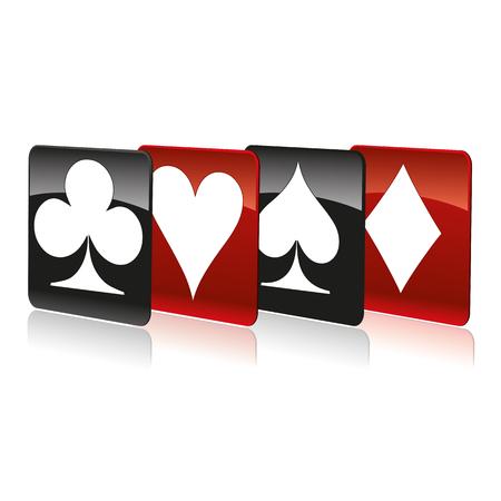 bluff: Cards symbols