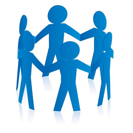 solidaridad: Concepto de Solidaridad Vectores
