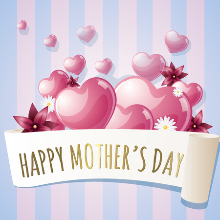 Happy mothers day 向量圖像