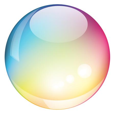 sphere: Rainbow sphere Illustration