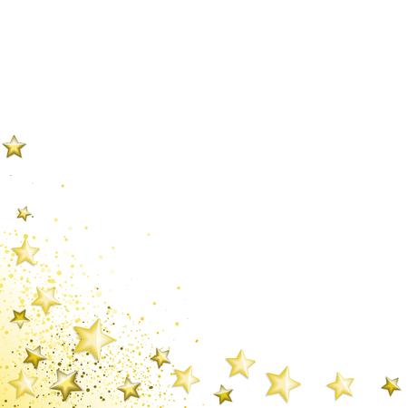 Gold stars background