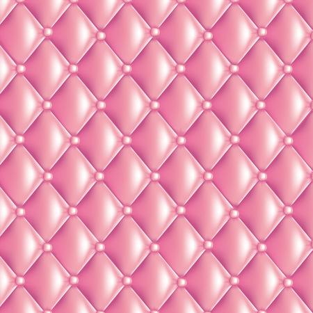 Roze gewatteerde textuur Stock Illustratie