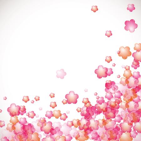 flowers background: Flores de fondo