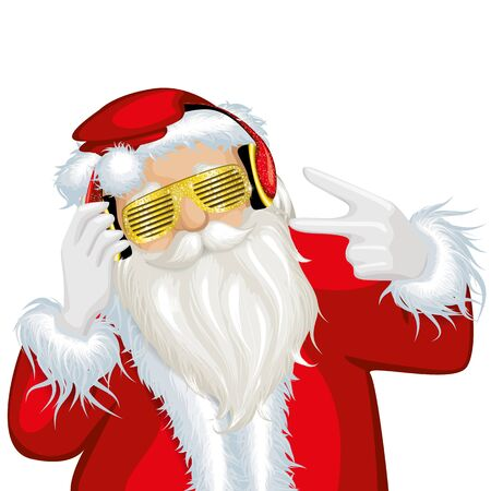swag: Santa Christmas swag