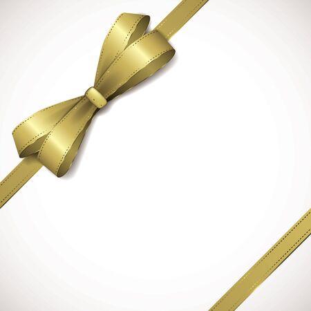 ribbon background: Gold background Illustration